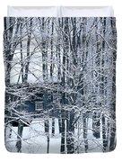Winter Window Duvet Cover