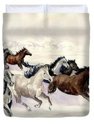 Winter Wishperer Duvet Cover
