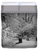 Winter Wonderland Duvet Cover by Sebastian Musial