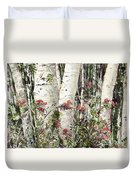 Winter Wood Jpg Duvet Cover