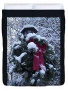 Winter Wreath Duvet Cover