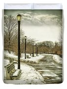 Winters Beauty Duvet Cover