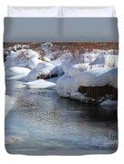 Winter's Blanket Duvet Cover