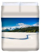 Winters Calm Duvet Cover