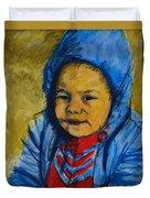 Winter's Child Duvet Cover