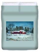 Winter's Colors Duvet Cover