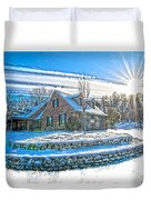 Winters Day Photoart 6 Duvet Cover