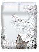 Winter's End Duvet Cover