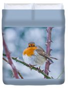 Winters Here Duvet Cover