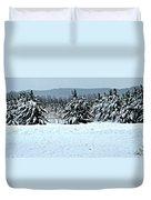 Winter's Love  Duvet Cover