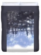 Winters' Shadow Duvet Cover