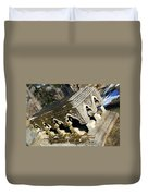 Winter's Snow Is Almost Gone Duvet Cover