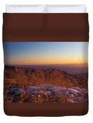 Winter's Splendor Duvet Cover by Heidi Smith
