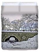Winter's Touch  Duvet Cover