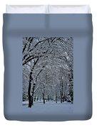 Winter's Work Duvet Cover
