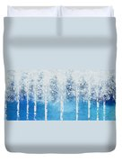 Wintry Mix Duvet Cover by Linda Bailey