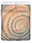 Wireframed Spiral Duvet Cover