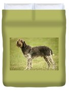 Wirehaired Pointing Griffon Duvet Cover