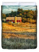 Wisconsin - Country Morning Duvet Cover
