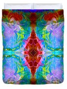 Wisdome And Mystery Abstract Pattern Artwork By Omaste Witkowski Duvet Cover
