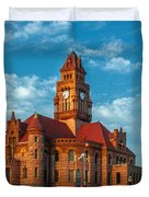 Wise County Courthouse Duvet Cover