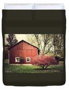 Wise Old Barn Summertime Duvet Cover