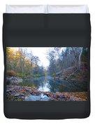 Wissahickon Creek - Fall In Philadelphia Duvet Cover