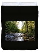 Wissahickon Creek Near Bells Mill Duvet Cover