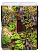 Wisteria On A Home In Zellenberg France 3 Duvet Cover