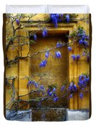 Wisteria Wall Duvet Cover