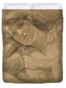 Wistful - Drawing Duvet Cover