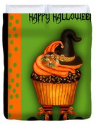 Witch Cupcake 3  Duvet Cover