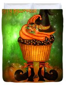 Witch Cupcake 4  Duvet Cover