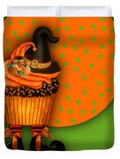 Witch Cupcake 5 Duvet Cover