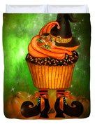 Witch Cupcake 6 Duvet Cover