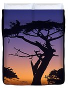 Witch Tree Monterey California Duvet Cover