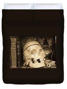 Witches Bookshelf Duvet Cover