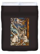 Witches Duvet Cover by Hans Baldung Grien