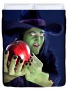 Witch's Apple Duvet Cover