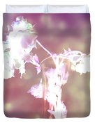 Withering Away - Magenta Sparkle Duvet Cover
