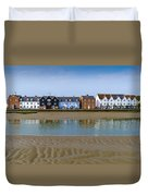 Wivenhoe Waterfront Duvet Cover by Gary Eason
