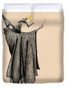 Wizard Of Orange Duvet Cover