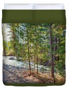 Wolf Creek Stretching Out Duvet Cover