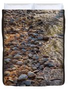 Wolf Creek Upstream Duvet Cover by Omaste Witkowski