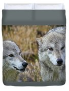Wolf Glare Duvet Cover