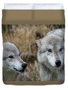 Wolf Glare II Duvet Cover