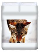 Wolf In The Wild Duvet Cover