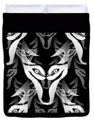Wolf Mask Duvet Cover