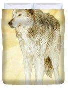 Wolf Shine Duvet Cover