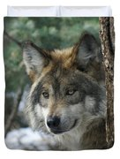 Wolf Upclose Duvet Cover